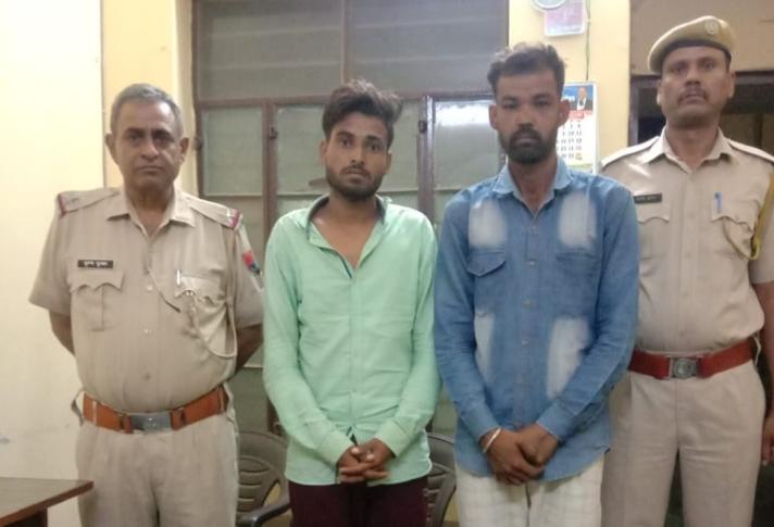 कैमरे खंगालेतो पकड़ में आए आरोपी, पंजाब के रहने वाले हैं दोनों युवक|श्रीगंंगानगर,Sriganganagar - Dainik Bhaskar