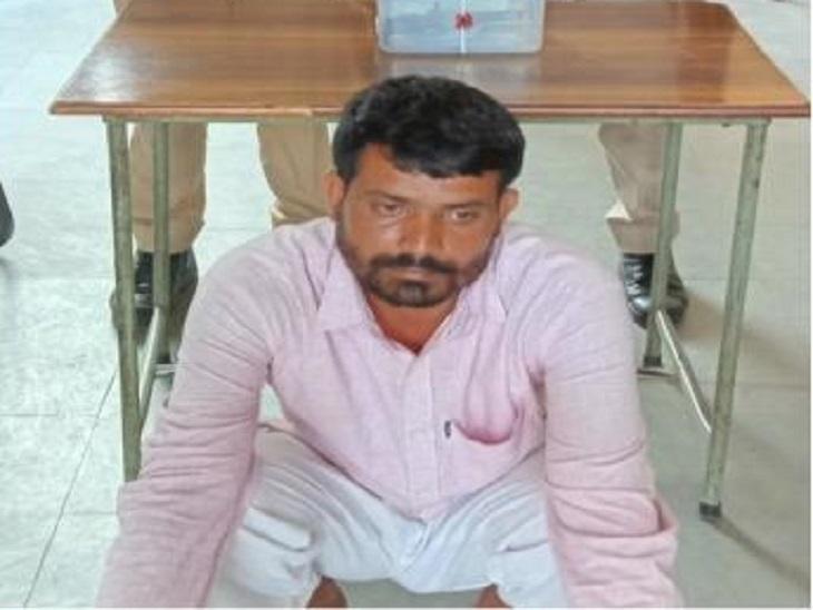 बदमाश विक्रम बामरडादेता था हथियार,वारदात को अंजाम देने के लिए साथी का कर रहा था इंतजार,उससे पहले ही पकड़ा गया|सीकर,Sikar - Dainik Bhaskar