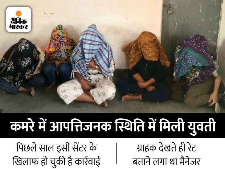 जैसलमेर में स्वामी बुद्धा स्पा सेंटर पर पुलिस ने की रेड; 5 युवतियां, मैनेजर और 2 युवक पकड़े गए|जैसलमेर,Jaisalmer - Dainik Bhaskar
