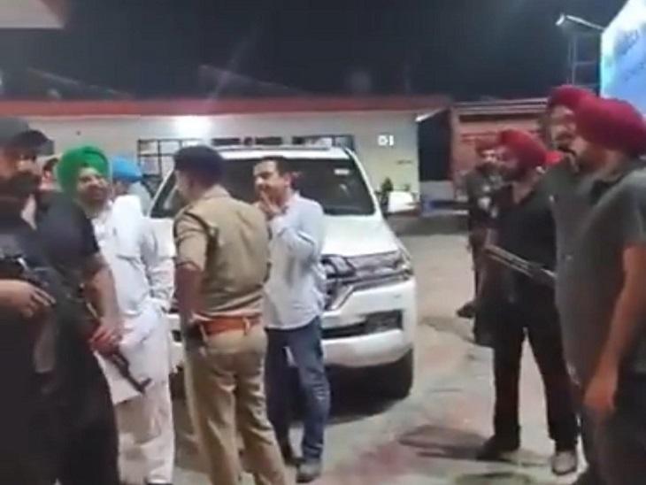 मंत्रियों और विधायकों के साथ जाने की इजाजत मिली, उत्तराखंड के बाजपुर में कटी कांग्रेसियों की रात|जालंधर,Jalandhar - Dainik Bhaskar