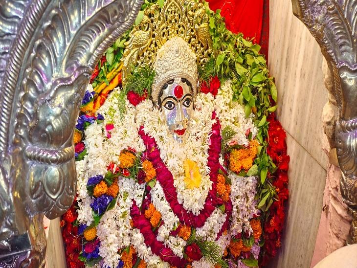 वाराणसी में ब्रह्मचारिणी देवी के दर्शन को उमड़े श्रद्धालु, संतान की कामना होती है पूरी; मिलती है शांति और यश|वाराणसी,Varanasi - Dainik Bhaskar