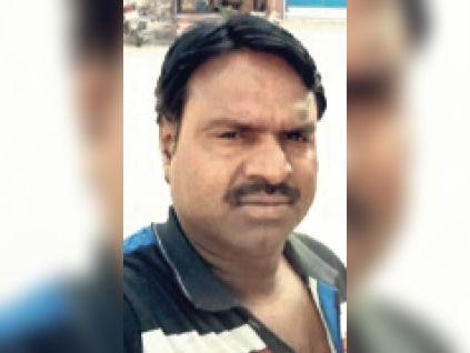 मृतक नेमाराम - Dainik Bhaskar