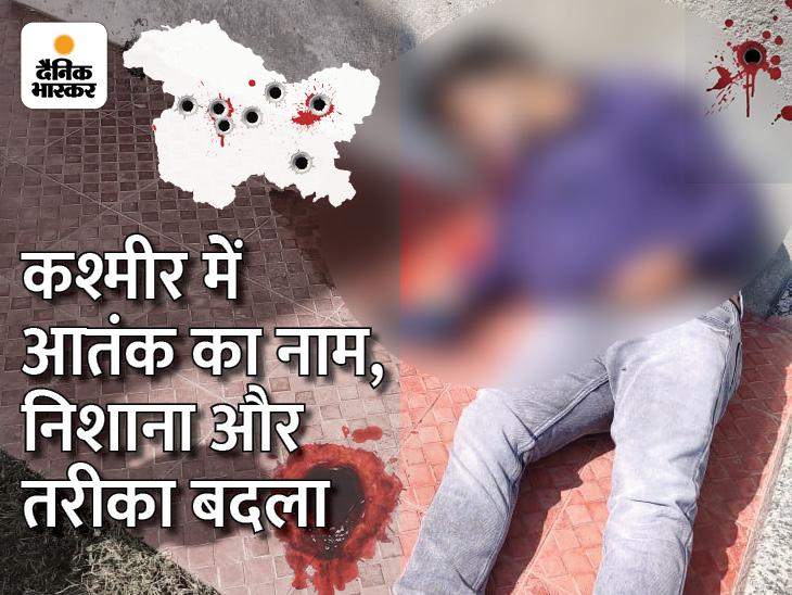 कश्मीर में आतंक के नए नाम-TRF और ULF; निशाने पर गैर-मुस्लिम और उनके मददगार, तरीका- करीब आकर पिस्टल से गोली मार दो|DB ओरिजिनल,DB Original - Dainik Bhaskar