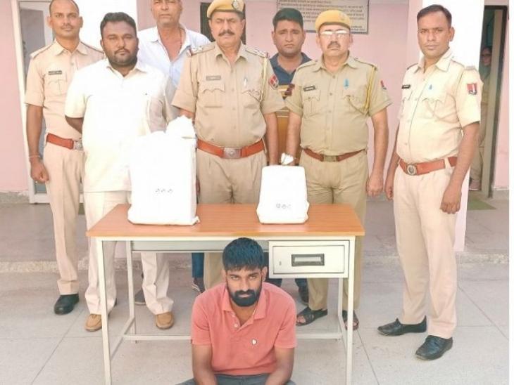 घरवाले राजी नहीं हुए तो टीचर की बेटी ने बनाया चोरी का प्लान, बॉयफ्रेंड से पार करवाए 42 लाख कैश और 99 तोला सोना|नागौर,Nagaur - Dainik Bhaskar