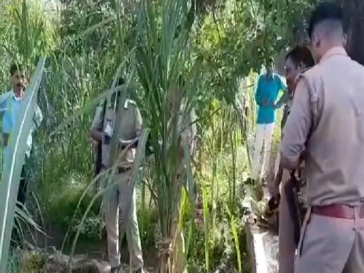 खेत पर काम कर रहा था किसान, ट्यूबवेल पर पानी पीने आए बदमाश ने की बातचीत; जाते समय मार दी गोली|बागपत,Baghpat - Dainik Bhaskar
