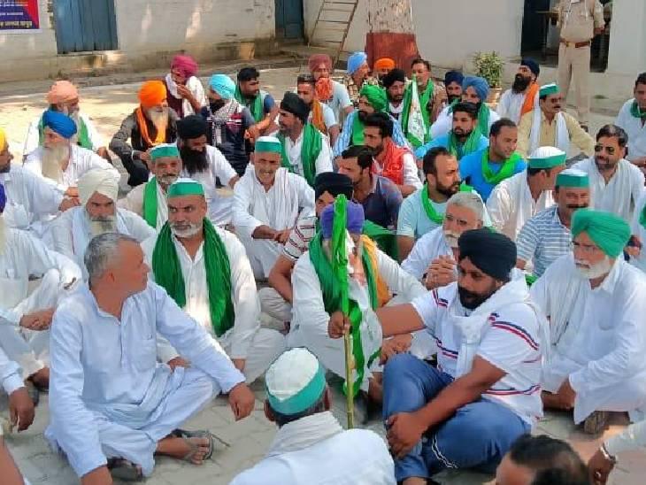 लखीमपुर खीरी हिंसा में मारे गए किसानों को बताया खालिस्तानी, भाकियू की तहरीर पर रिपोर्ट दर्ज हापुड़,Hapud - Dainik Bhaskar