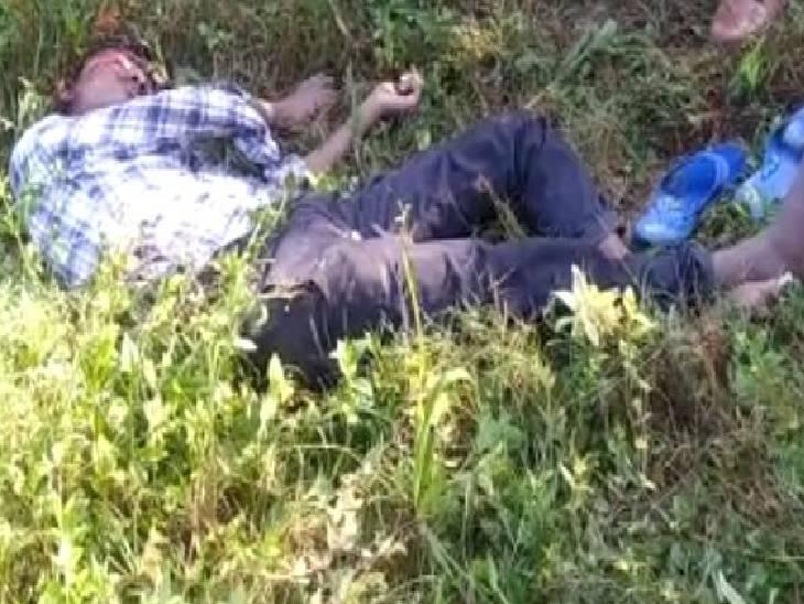कौशांबी में युवक की हत्या। - Dainik Bhaskar