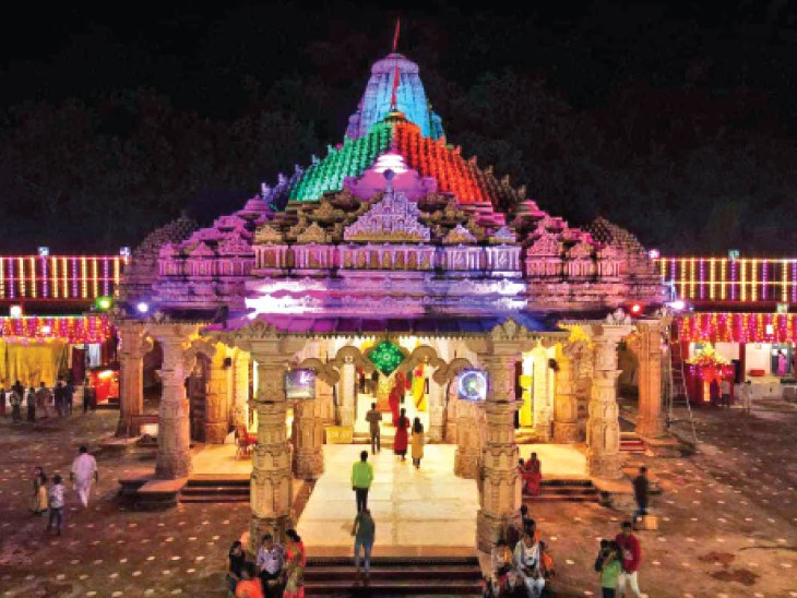 मां बम्लेश्वरी मंदिर । - Dainik Bhaskar