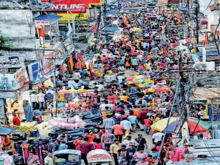 बाजार में लौट रही रौनक - Dainik Bhaskar