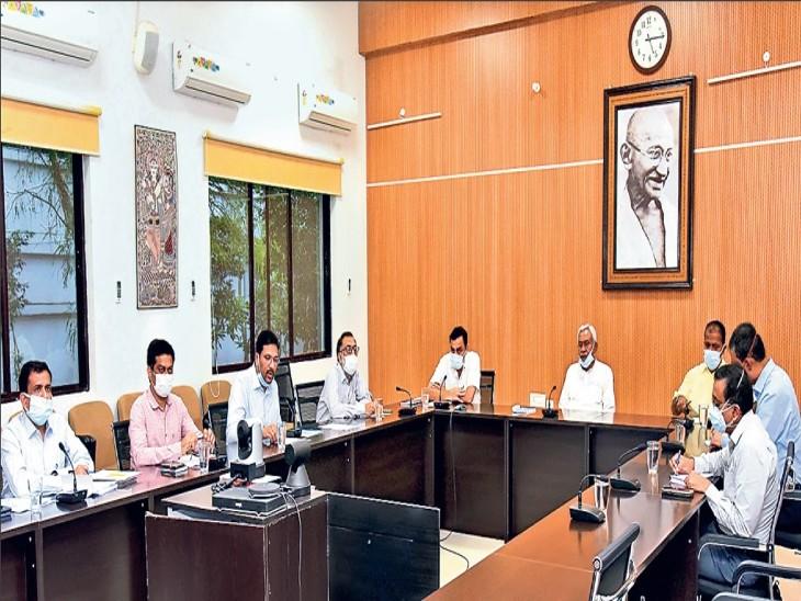 नीतीश बोले- 2 दिन में सभी डीएम बाढ़ और बारिश से फसलों को हुए नुकसान की रिपोर्ट दें, कोई भी राहत से वंचित नहीं रहे पटना,Patna - Dainik Bhaskar