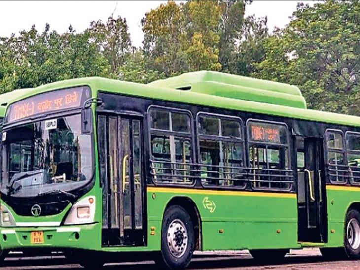 राजधानी में डीजल वाली बसों के परिचालन पर लगेगी रोक। - Dainik Bhaskar