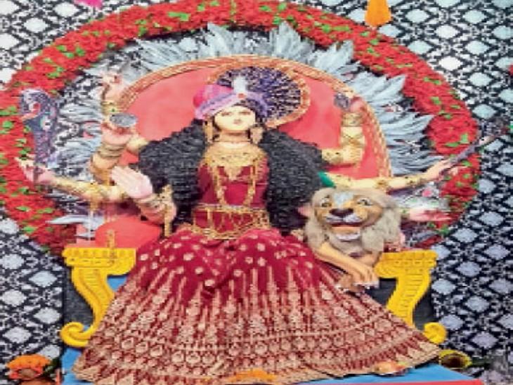 श्री श्री मां जय भवानी दुर्गा उत्सव समिति, टिकरापारा। - Dainik Bhaskar