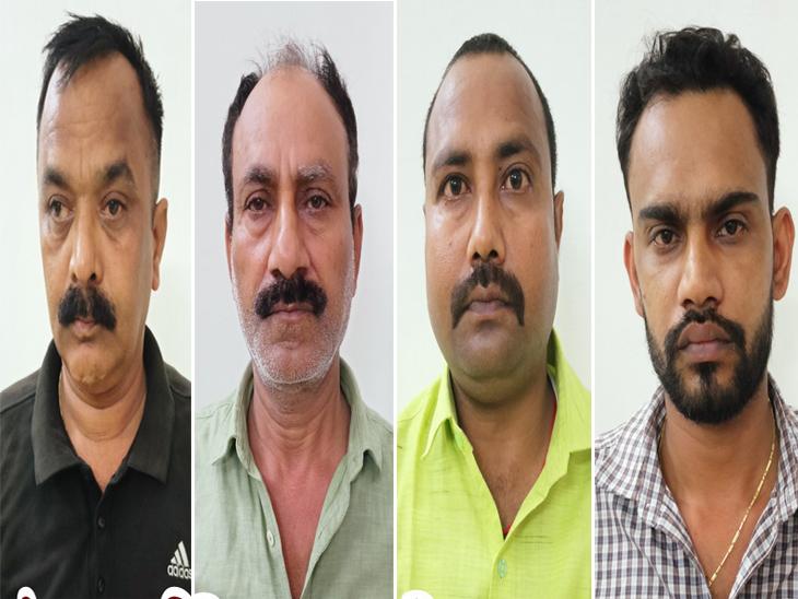 आरोपितों के पास से फर्जी नियुक्ति पत्र, फर्जी मेडिकल रिपोर्ट, कूटरचित रेलवे का उपस्थिति पंजिका व सात मोबाइल बरामद हुआ है। - Dainik Bhaskar
