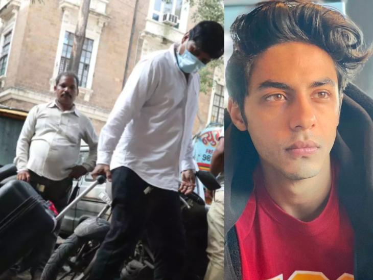 आर्यन खान के लिए खाना और बाकी जरूरत का सामान लेकर NCB ऑफिस पहुंचा शाहरुख खान का स्टाफ|बॉलीवुड,Bollywood - Dainik Bhaskar