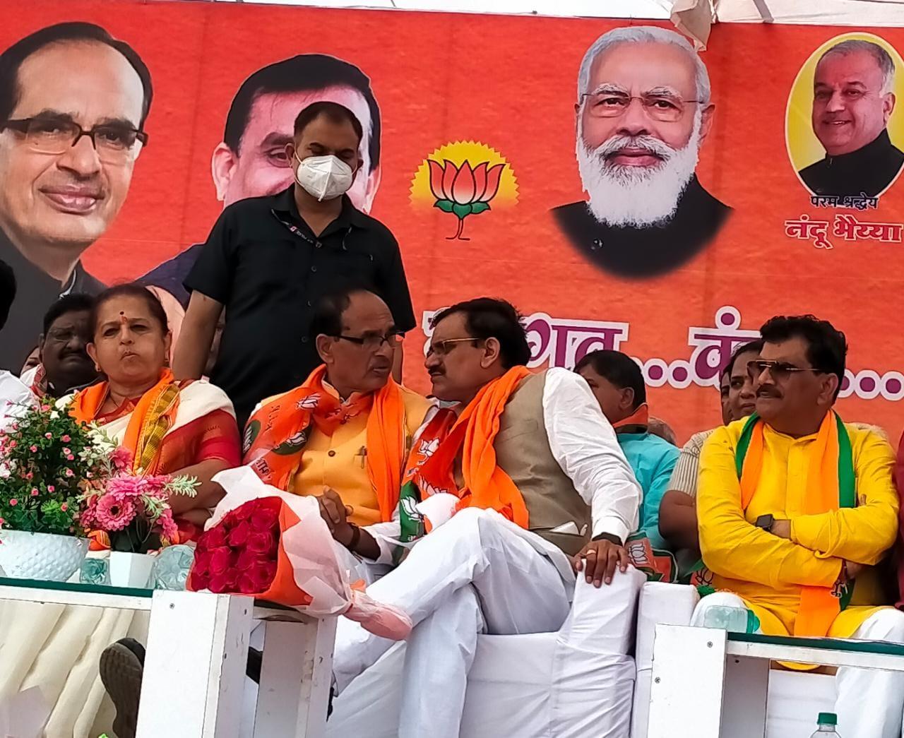 संसदीय क्षेत्र में शिवराज-वीडी 60 से ज्यादा सभाएं करेंगे; शिवराज का प्रत्येक विधानसभा में कम से कम 7 बार दौरा|खंडवा,Khandwa - Dainik Bhaskar