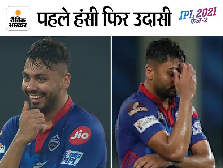 हंसती रही दिल्ली जीत गई बेंगलुरु; ईशान ने लगातार 4 गेंदों पर लगाए चौके, सूर्यकुमार को कान पर लगी चोट|IPL 2021,IPL 2021 - Dainik Bhaskar