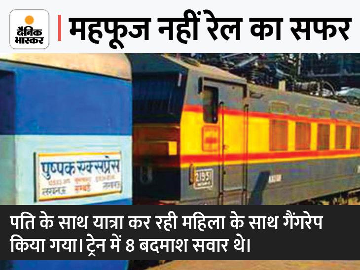चलती ट्रेन में गैंगरेप की घटना शुक्रवार रात महाराष्ट्र के इगतपुरी से कल्याण के बीच हुई है।- फाइल फोटो। - Dainik Bhaskar