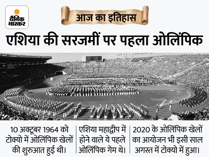 पहली बार किसी एशियाई देश में ओलिंपिक खेलों का आयोजन हुआ, भारत ने पाकिस्तान को हराकर हॉकी में जीता था गोल्ड|देश,National - Dainik Bhaskar