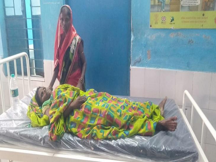 डॉक्टरों की लापरवाही और बेहतर इलाज के अभाव में मरीज की मौत, परिजनों ने जमकर किया हंगामा खगरिया,Khagaria - Dainik Bhaskar