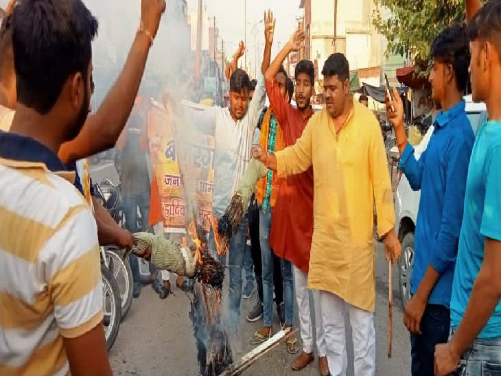 कहा- आतंकवादी हिंदूओं की आईडी देखकर उनको मार रहे हैं, हम आतंकवादियों से डरने वाले नहीं हैं शामली,Shamli - Dainik Bhaskar