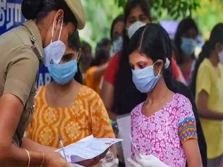 जयपुर में 104 परीक्षा केंद्रों पर 45 हजार 552 परीक्षार्थी बैठेंगे; कोरोना रिपोर्ट लाना जरूरी होगा, देशभर में करीब 5 लाख अभ्यर्थी बैठेंगे|जयपुर,Jaipur - Dainik Bhaskar