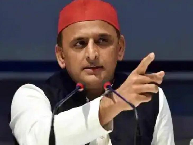 अखिलेश यादव बोले- लखीमपुर हिंसा कुर्सी पर बैठे लोगों का कारनामा, भाजपा की नीति विभाजनकारी सहारनपुर,Saharanpur - Dainik Bhaskar