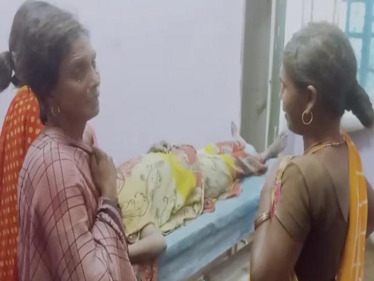 चारा लाने के लिए जा रहे थे बाजार, रास्ते में पड़े बिजली के तार की चपेट में आए; लापरवाही का आरोप|जहानाबाद,Jehanabad - Dainik Bhaskar