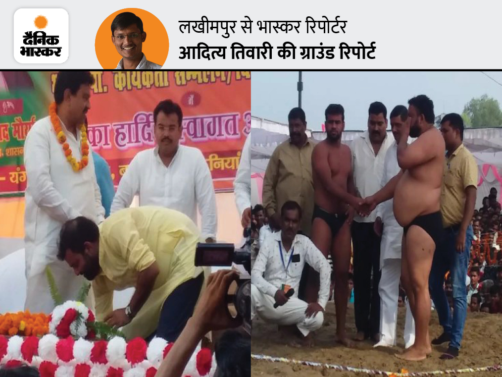 बनवीरपुर गांव के लोग बोले- सुबह मोनू भइया दंगल में थे, लेकिन शाम को हिंसा के वक्त नहीं थे; ज्यादा बता नहीं सकते, मंत्रीजी का मामला है लखनऊ,Lucknow - Dainik Bhaskar