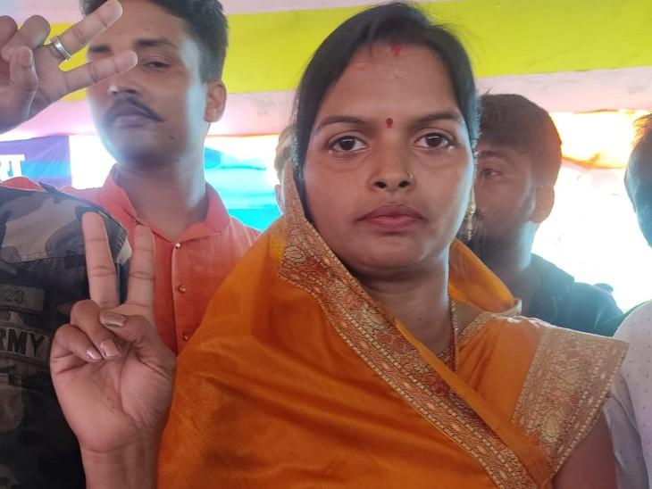 औरंगाबाद के जिला परिषद क्षेत्र संख्या 17 से विजयंती कुमारी ने जीत दर्ज की।