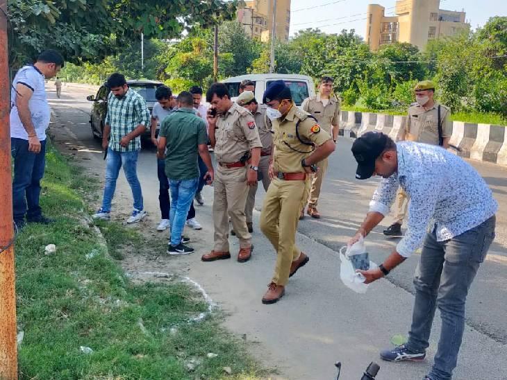 ब्लूड ऐप के माध्यम से दोस्ती कर करते थे लूटपाट, मुठभेड़ के दौरान एक बदमाश के पैर में लगी गोली|गौतम बुद्ध नगर,Gautambudh Nagar - Dainik Bhaskar