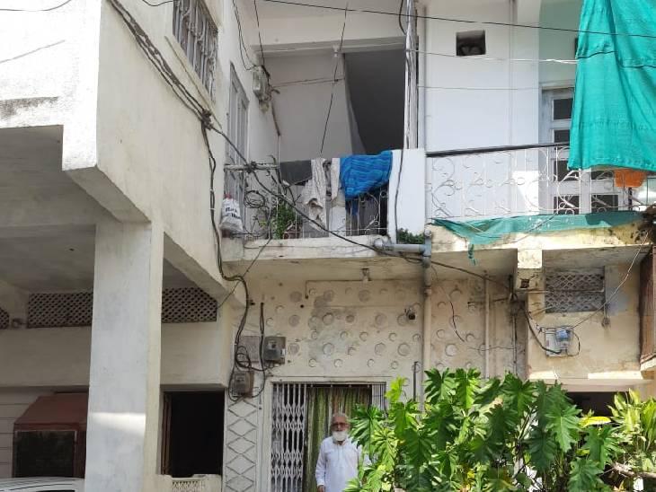 कदीर खान का भोपाल स्थित घर। हालांकि, इस मकान को दोबारा बनाया गया है।