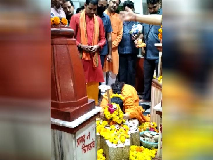 लखीमपुर मामले में बोलीं- उत्तर प्रदेश के सीएम ने जो किया, वह ठीक किया दतिया,Datiya - Dainik Bhaskar