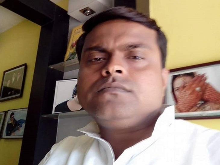 राजद के जिला प्रवक्ता राजीव रंजन। - Dainik Bhaskar