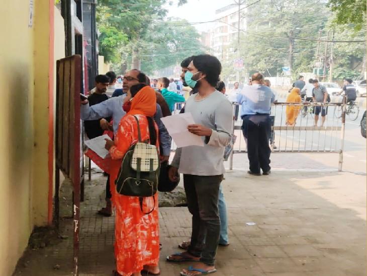 राजधानी में बनाए गए 89 सेंटर, सुबह 9:30 से 11:30 तक पहली पाली और दोपहर 2:30 से 4:30 तक दूसरी पाली बिहार,Bihar - Dainik Bhaskar