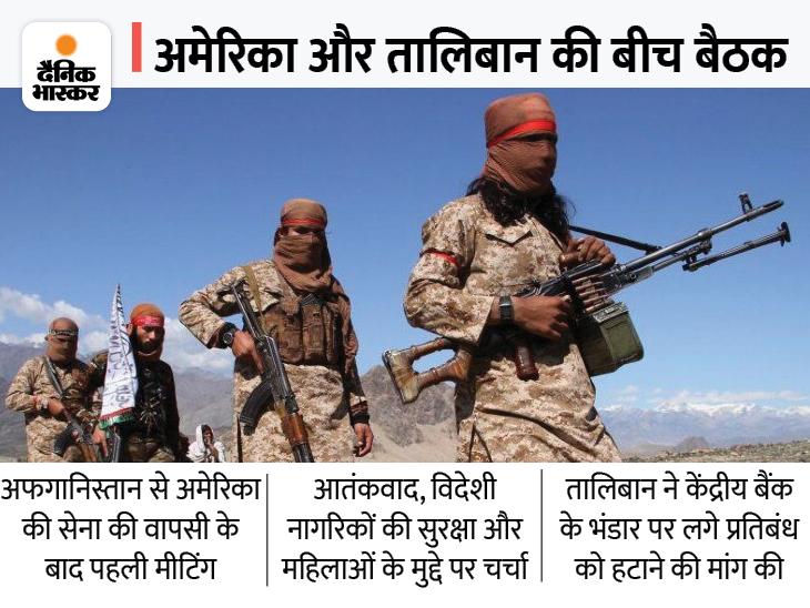 अफगानिस्तान की नई सरकार को मान्यता नहीं देगा US; तालिबान को बातों से नहीं, काम से आंकेगा|विदेश,International - Dainik Bhaskar