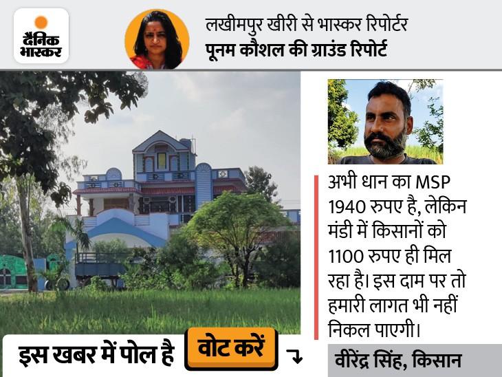 यहां किसानों के पास बंगला तो है, लेकिन वे कर्ज में दबे हैं; ब्याज चुकाने में जमीनें तक बिक गई हैं, अब लोग बच्चों को विदेश कमाने भेज रहे हैं DB ओरिजिनल,DB Original - Dainik Bhaskar