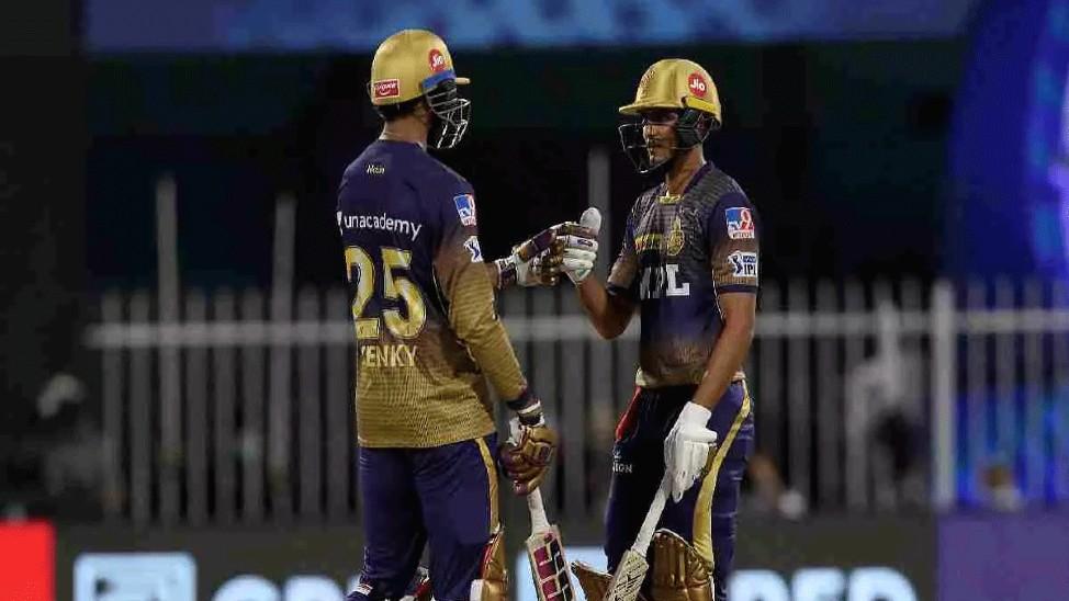 RCB के 138 रनों के जवाब में KKR की बढ़िया शुरुआत, गिल-अय्यर क्रीज पर IPL 2021,IPL 2021 - Dainik Bhaskar