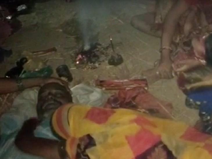 जमुई में खेत में खाद देने गया था शख्स, करंट लगने से गई जान, बचाने की कोशिश में भाई की भी मौत बिहार,Bihar - Dainik Bhaskar