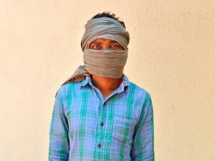 30 वर्षीय नक्सली अजय हिचामी गट्टा नक्सल दलम का सदस्य था। - Dainik Bhaskar