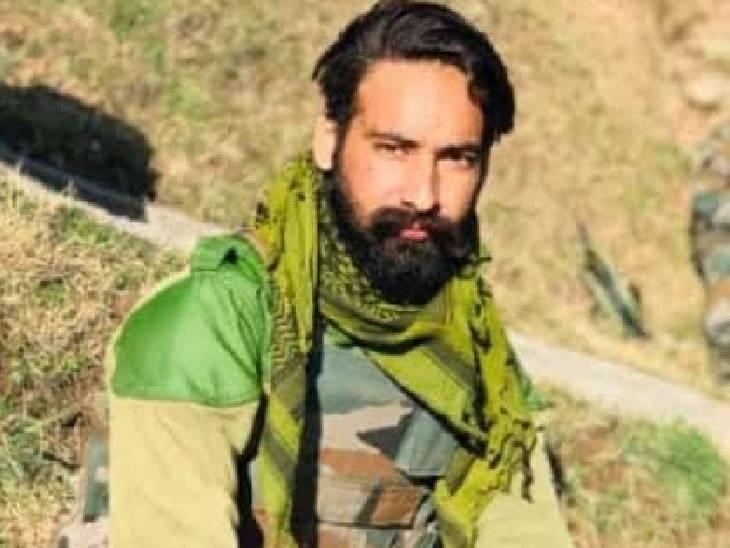जम्मू कश्मीर के पुंछ सेक्टर में तैनात थे, सर्च ऑपरेशन के दौरान घात लगाए बैठे आतंकियों ने हमला किया; बड़े 2 भाई भी सेना में रहकर कर रहे देश सेवा|शाहजहांपुर,Shahjahanpur - Dainik Bhaskar