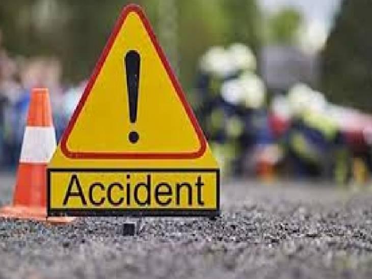2 गाड़ी पर सवार थे 7 लोग, टैक्टर ने मारी टक्कर, 6 लोगों की हालत गंभीर|संभल,Sambhal - Dainik Bhaskar
