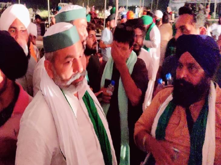 आज अंतिम अरदास में संयुक्त किसान मोर्चा के मंच पर नहीं मिलेगी राजनेताओं को जगह, हो सकता है बड़ा ऐलान लखीमपुर-खीरी,Lakhimpur-Kheri - Dainik Bhaskar