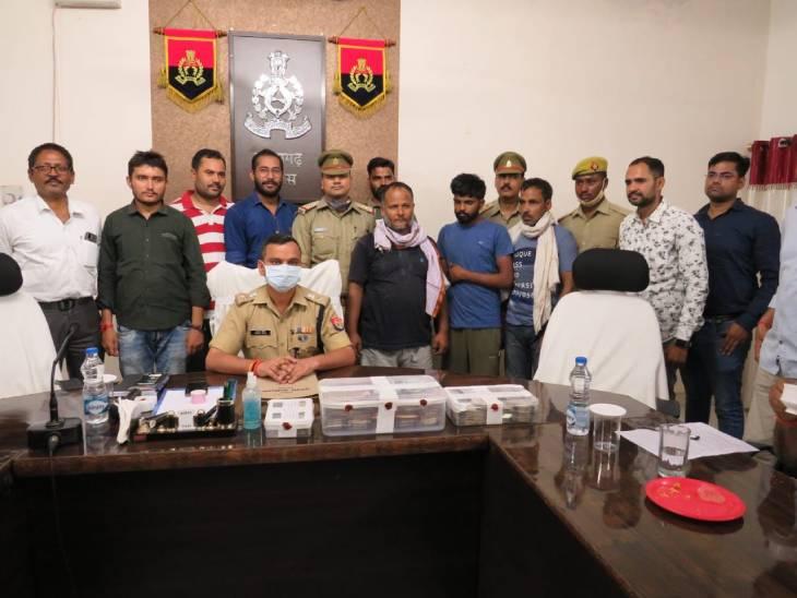 फर्जी सूचना देने वाले 3 शातिरों को पुलिस ने गिरफ्तार किया, चोरी का माल समेत ट्रक बरामद|प्रतापगढ़,Pratapgarh - Dainik Bhaskar
