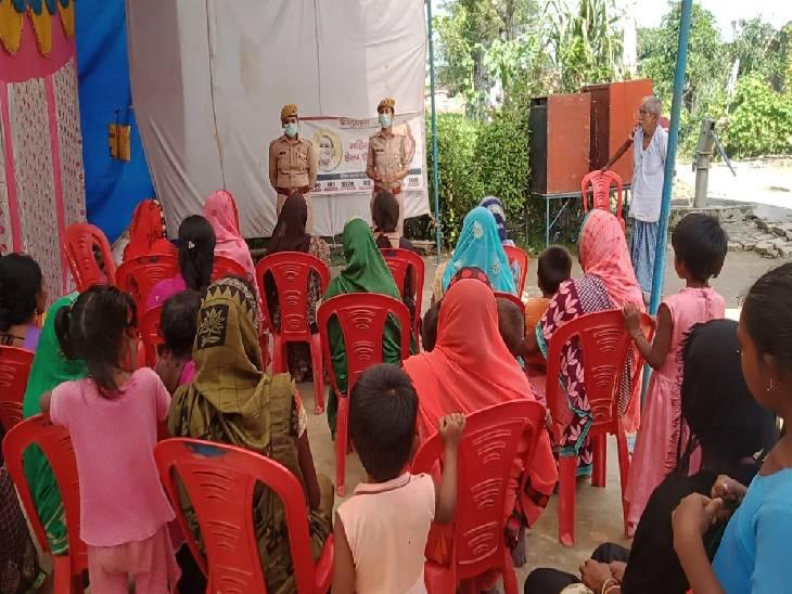 मिशन शक्ति के तहत महिलाओं को सतर्क रहने की दी सलाह, इमरजेंसी नंबरों के बारे में भी बताया|सिद्धार्थनगर,Siddharthnagar - Dainik Bhaskar