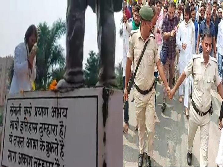 कहा- पिताजी ने छात्र आंदोलन में जेपी का साथ दिया था, हम भी वही कर रहे; छात्र और जनता ही मेरी पार्टी है|बिहार,Bihar - Dainik Bhaskar