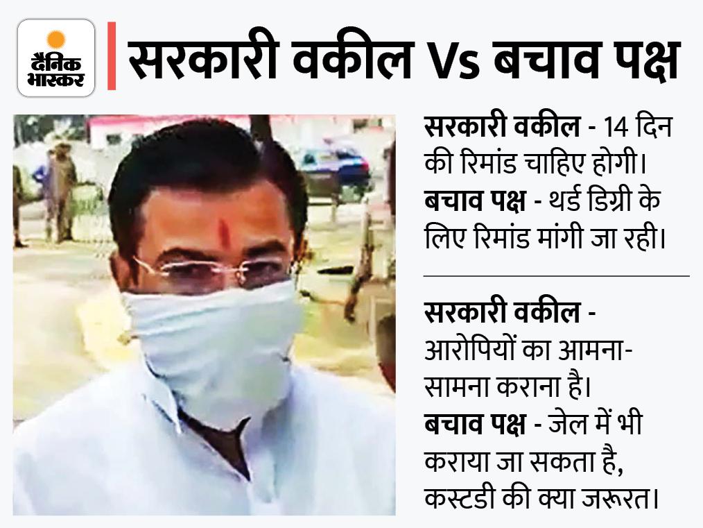 आरोपी के वकील बोले- 12 घंटे पूछताछ के बाद रिमांड की क्या जरूरत? थर्ड डिग्री देना चाहते हैं; पुलिस का तर्क- तथ्यों की जांच बाकी|लखनऊ,Lucknow - Dainik Bhaskar