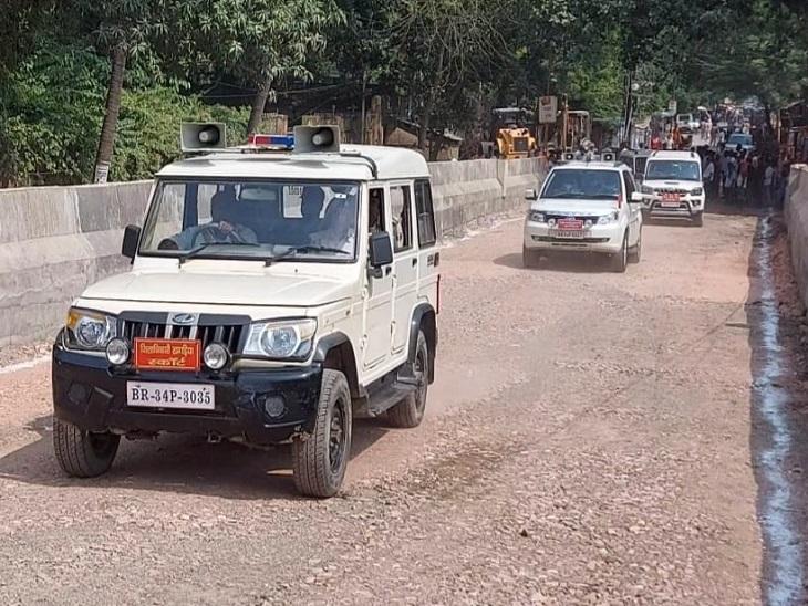 राजेन्द्र चौक-गोशाला रोड आरओबी संपर्क पथ का निर्माण कार्य जारी, 80 को मिल चुका है अधिग्रहण का भुगतान|खगरिया,Khagaria - Dainik Bhaskar