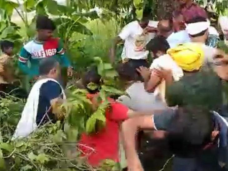 पावापुरी में वोट मांगने के बीच हुई दोनों पक्षों में झड़प, आधा दर्जन से ज्यादा लोग घायल छपरा,Chhapra - Dainik Bhaskar