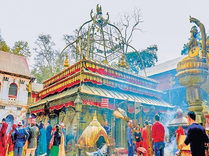 मां गुह्येश्वरी मंदिर में प्रतिमा नहीं है, यह मंदिर तांत्रिक अनुष्ठानों का बड़ा केंद्र है। - Dainik Bhaskar