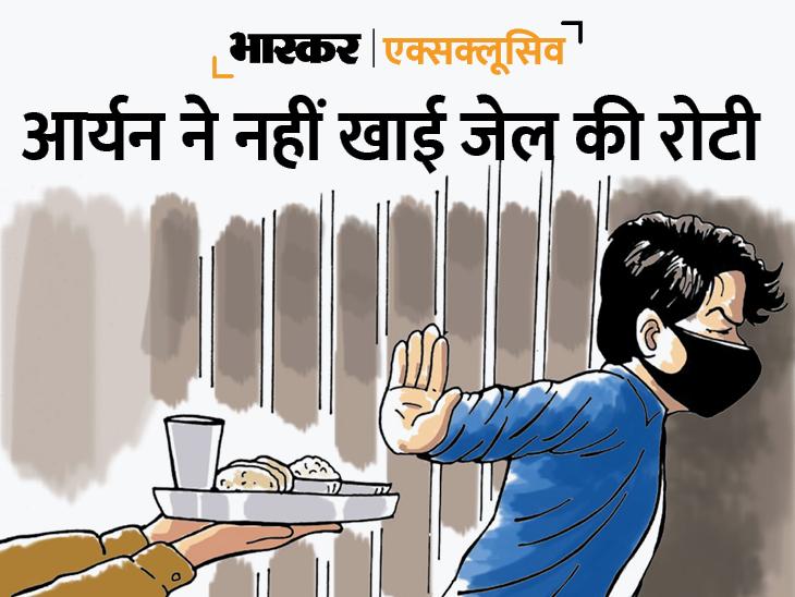 चार दिन से सिर्फ बिस्किट पर जिंदा हैं आर्यन खान, खत्म होने लगा है कैंटीन से खरीदा पानी; सेहत और सफाई को लेकर परेशान जेल अधिकारी|महाराष्ट्र,Maharashtra - Dainik Bhaskar